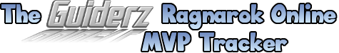 The Guiderz Ragnarok Online MVP Tracker